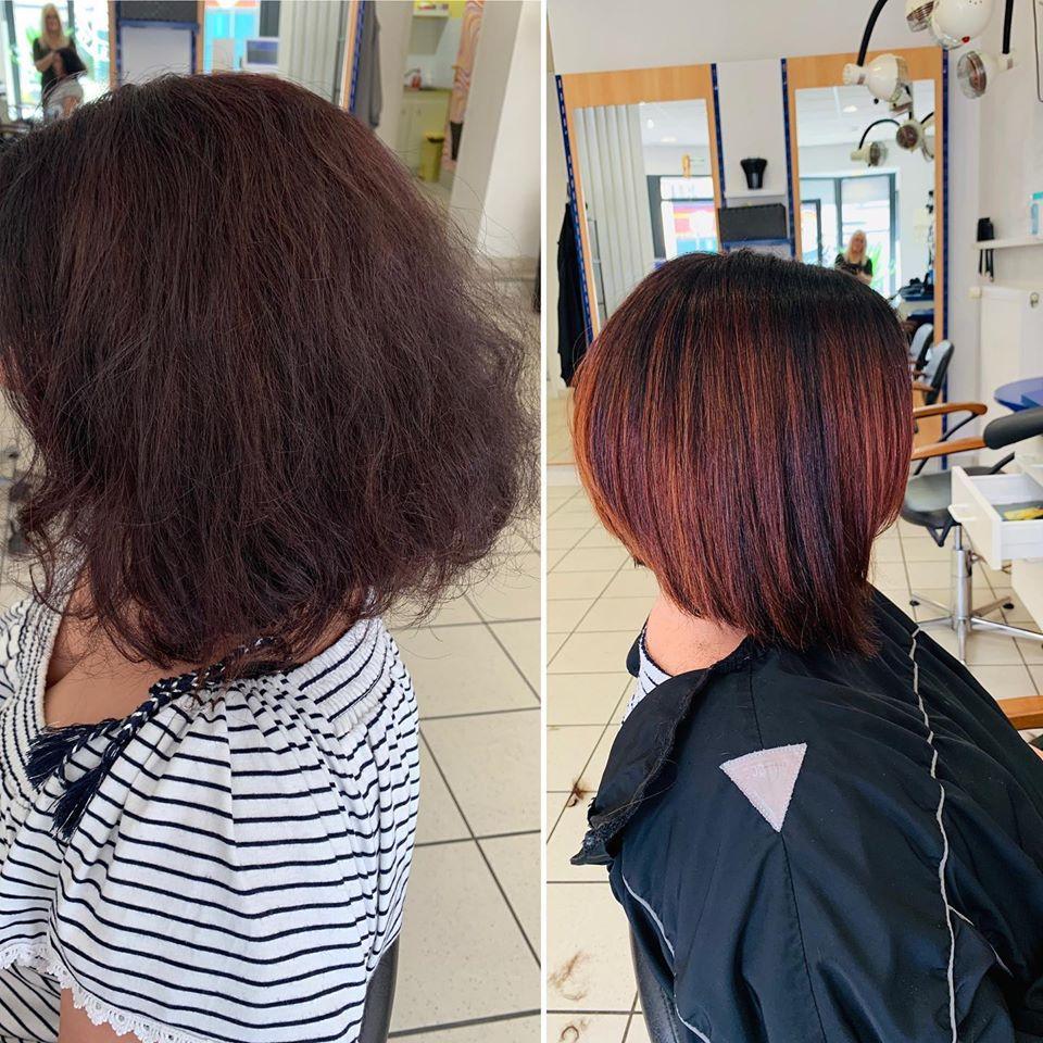 Coiffure Femme Brest Finistere Coupe Cheveux Court Long Carre Plongeant
